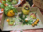 Выставка поделок из овощей и фруктов